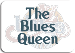 Bottone Blues Queen