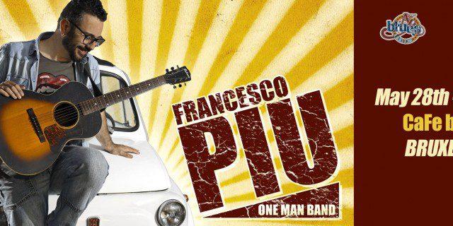 Francesco Piu live in Bruxelles