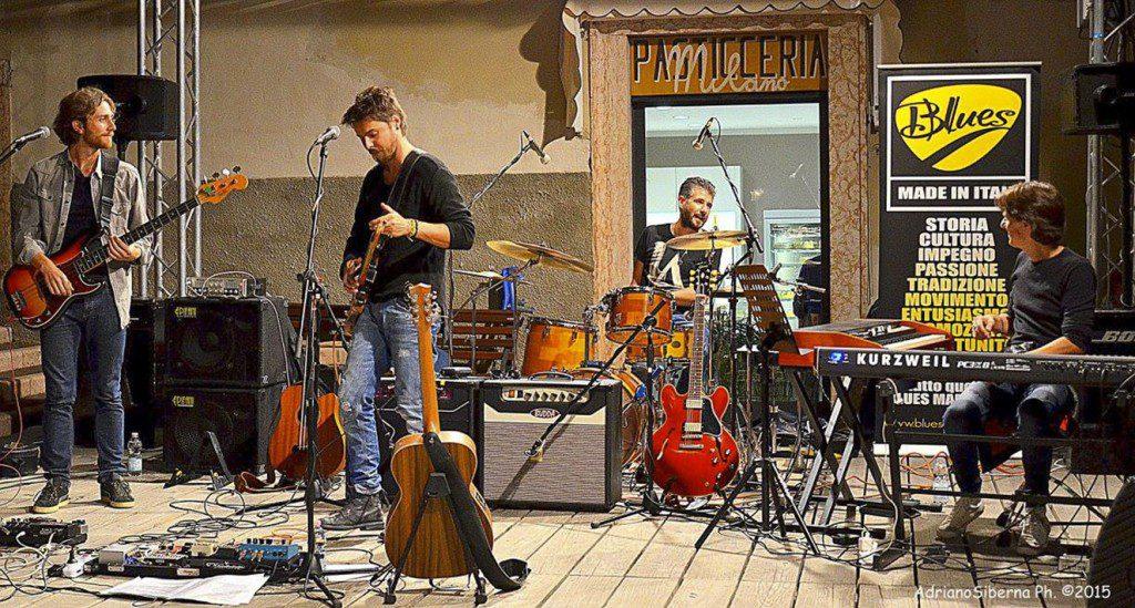 Diego Fainello Band, foto di Adriano Siberna