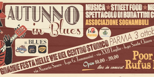 Parma, Autunno in Blues