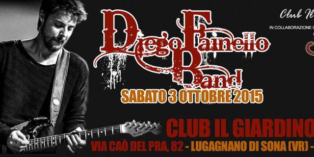 Diego Fainello Band @ Club Il Giardino