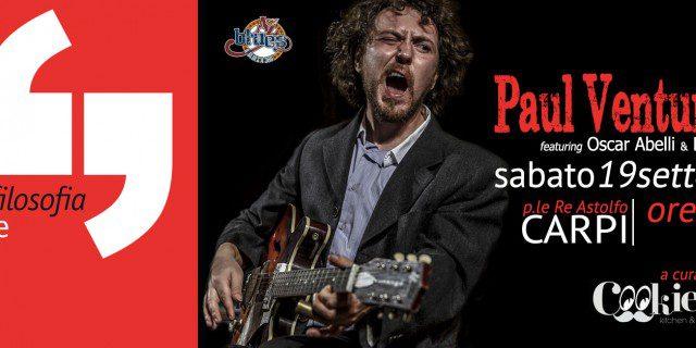 Paul Venturi Trio al Festival della Filosofia