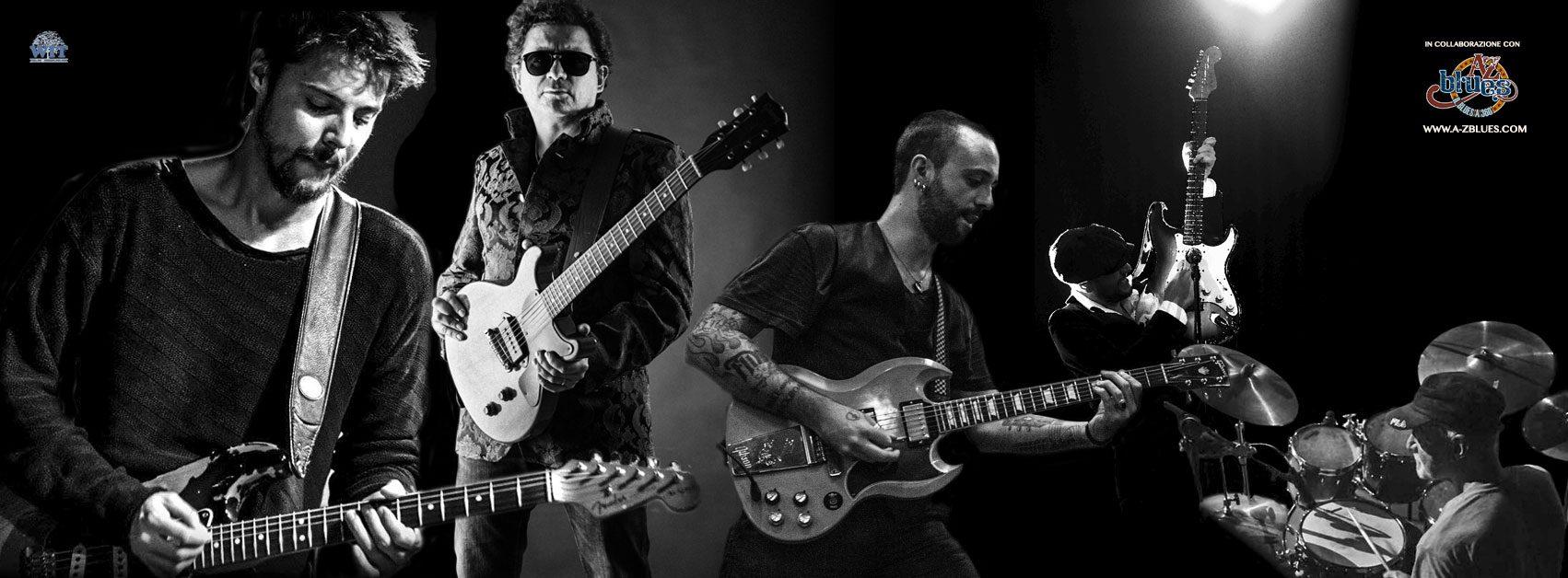 Diego Fainello Band, Mike Sponza, Riki Massini & Clive Bunker, Fabio Marza Band e Maurizio Pugno