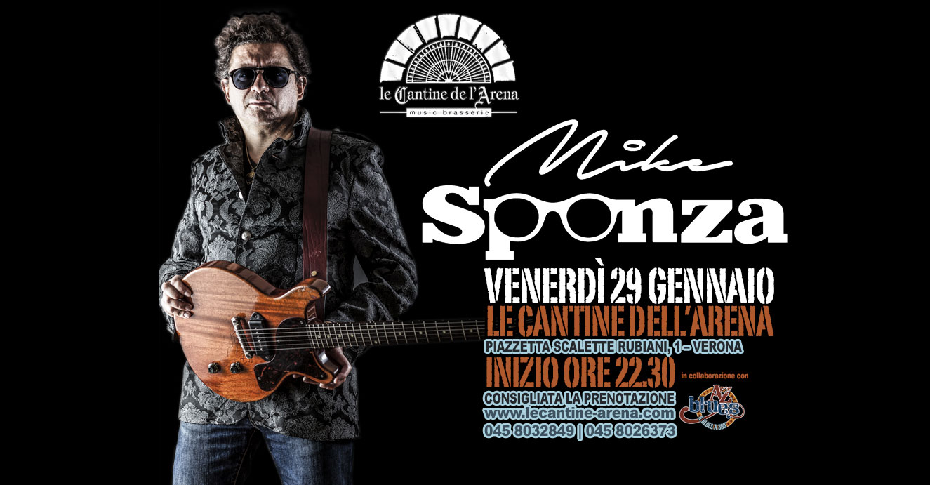 Mike Sponza live Cantine dell'Arena by A-Z Blues