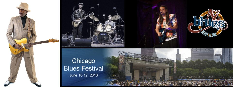 Anche A-Z Blues al Chicago Blues Festival con Gabriel Delta e Riki Massini