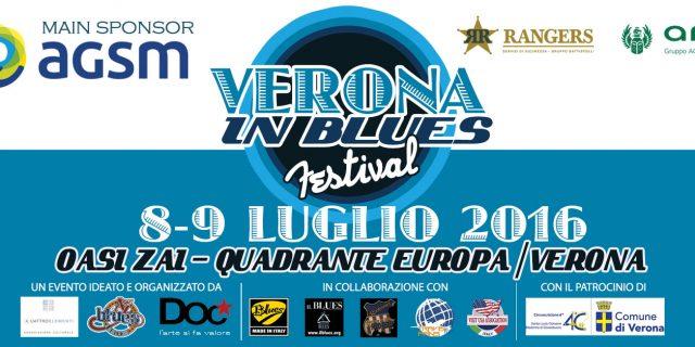 Al via la prima edizione del Verona In Blues Festival, grandi concerti e uno speciale premio a Rudy Rotta