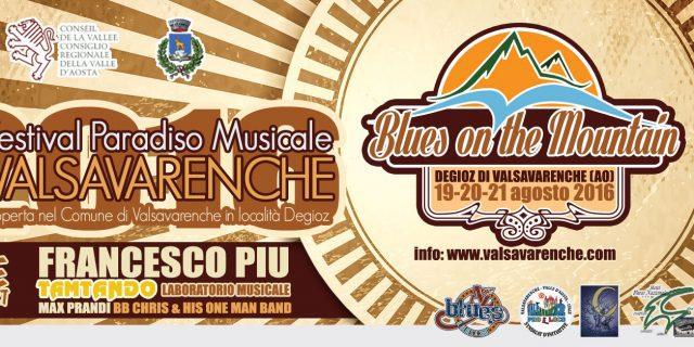 DAL 19 AL 21 AGOSTO: 2° EDIZIONE DEL FESTIVAL PARADISO MUSICALE
