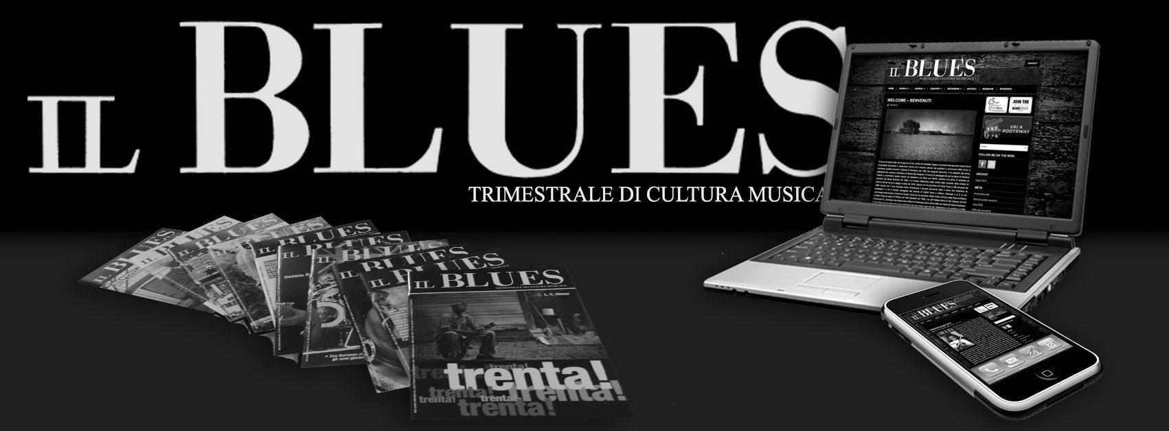 A-Z Blues - Il Blues Magazine, grafica Antonio Boschi, WIT Grafica & Comunicazione