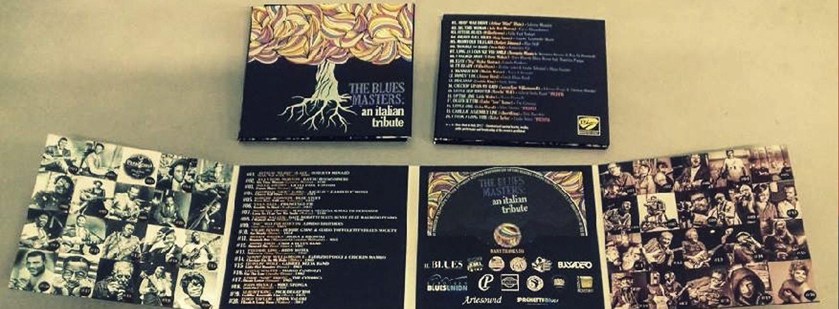 A-Z-Blues_The Blues Masters, il cd di Blues Made In Italy 2017 - grafica Antonio Boschi per WIT Grafica & Comunicazione