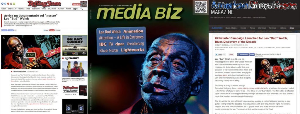 Late Blossom Blues, film su Leo Bud Welch con foto by Francesca Castiglioni A-Z Blues