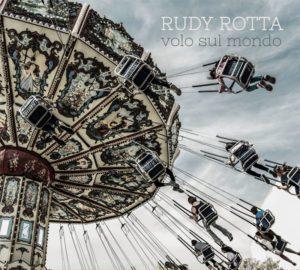 Rudy Rotta_vola sul mondo_cover by Antonio Boschi, WIT Grafica e Comunicazione per A-Z Blues