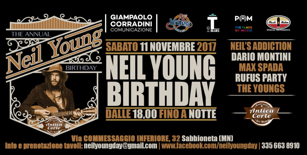 Happy Birthday Neil Young (grafica Antonio Boschi, WIT Grafica e Comunicazione)