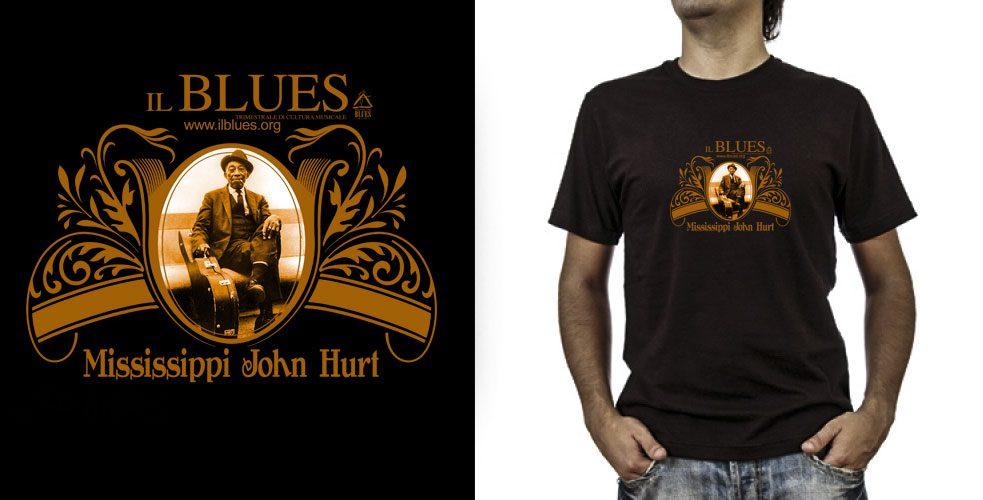 T-shirt._Mississippi-John-Hurt (grafica Antonio Boschi, WIT Grafica & Comunicazione)