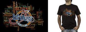 T-shirt_A-Z Blues (grafica Antonio Boschi, WIT Grafica & Comunicazione)