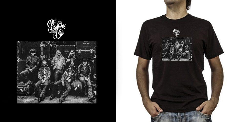 T-shirt._Allman Brothers (grafica Antonio Boschi, WIT Grafica & Comunicazione)