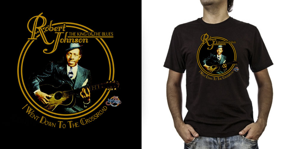 T-shirt._Robert Johnson (grafica Antonio Boschi, WIT Grafica & Comunicazione)