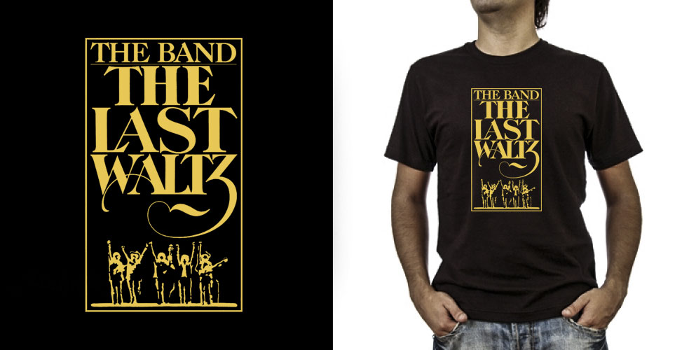 T-shirt._The Band (grafica Antonio Boschi, WIT Grafica & Comunicazione)