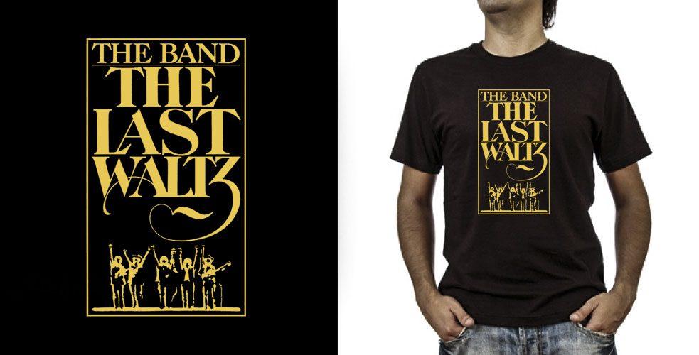 T-shirt._The Band (grafica Antonio Boschi, WIT Grafica & Comunicazione)