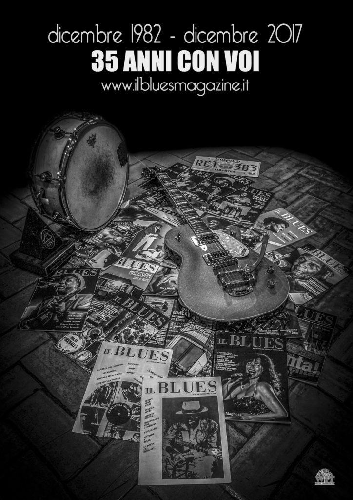 Il Blues Magazine, foto e grafica Antonio Boschi, WIT Grafica & Comunicazione