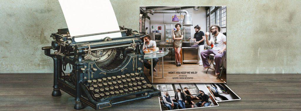 Rassegna stampa Gospel Book Revisited, grafica Antonio Boschi, WIT Grafica & Comunicazione