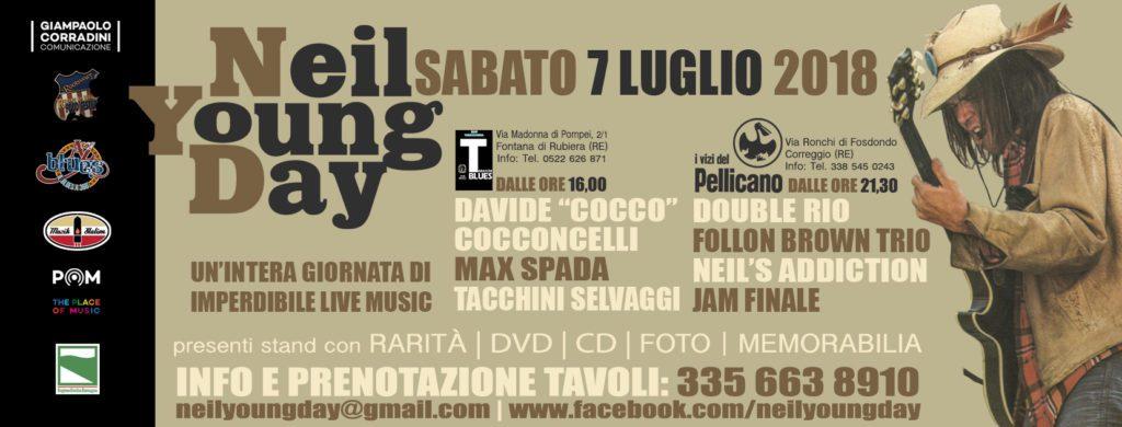 Neil Young Day 2018_grafica Antonio Boschi, WIT Grafica e Comunicazione