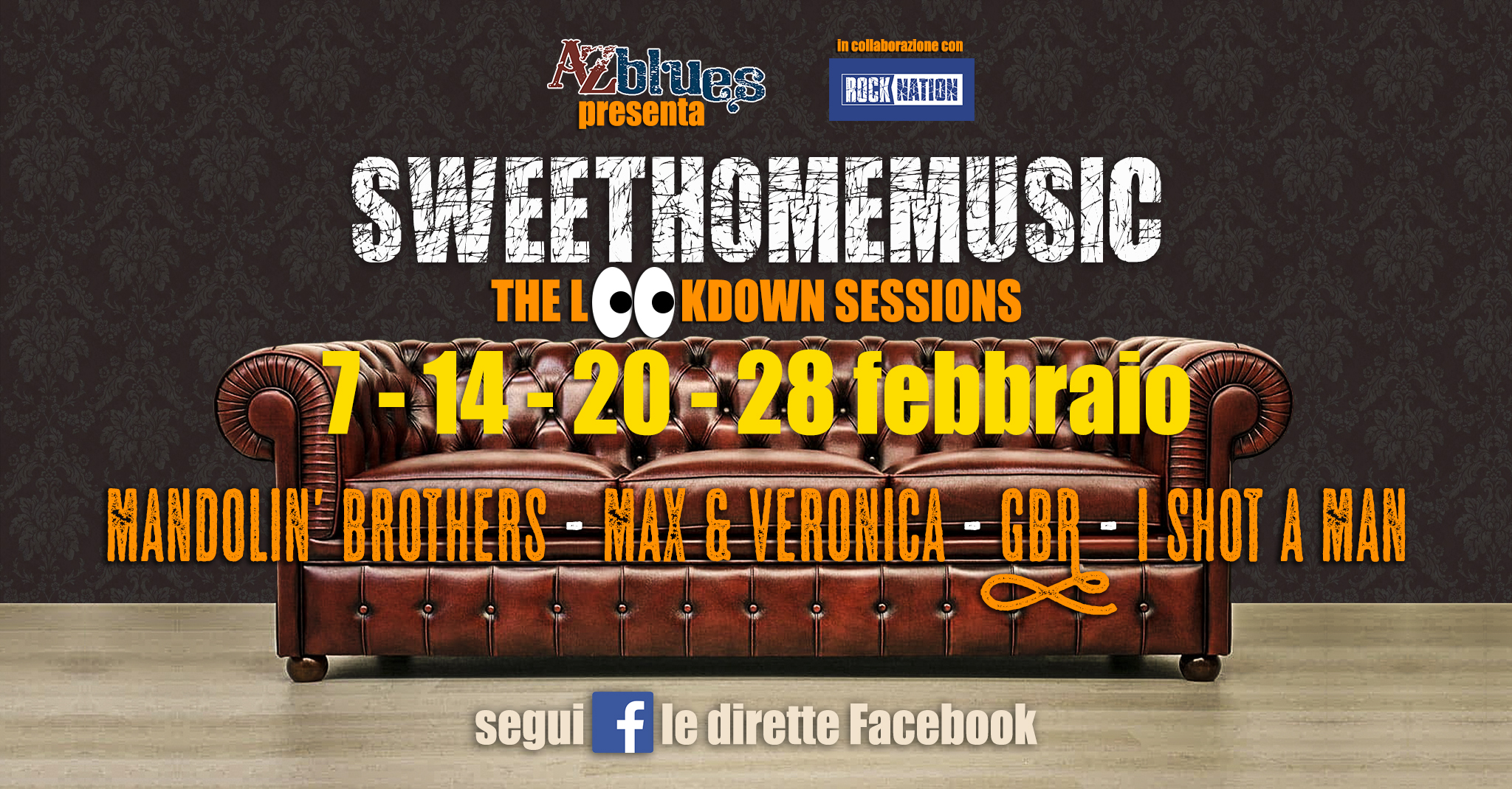 #SweetHomeMusic febbraio 2021