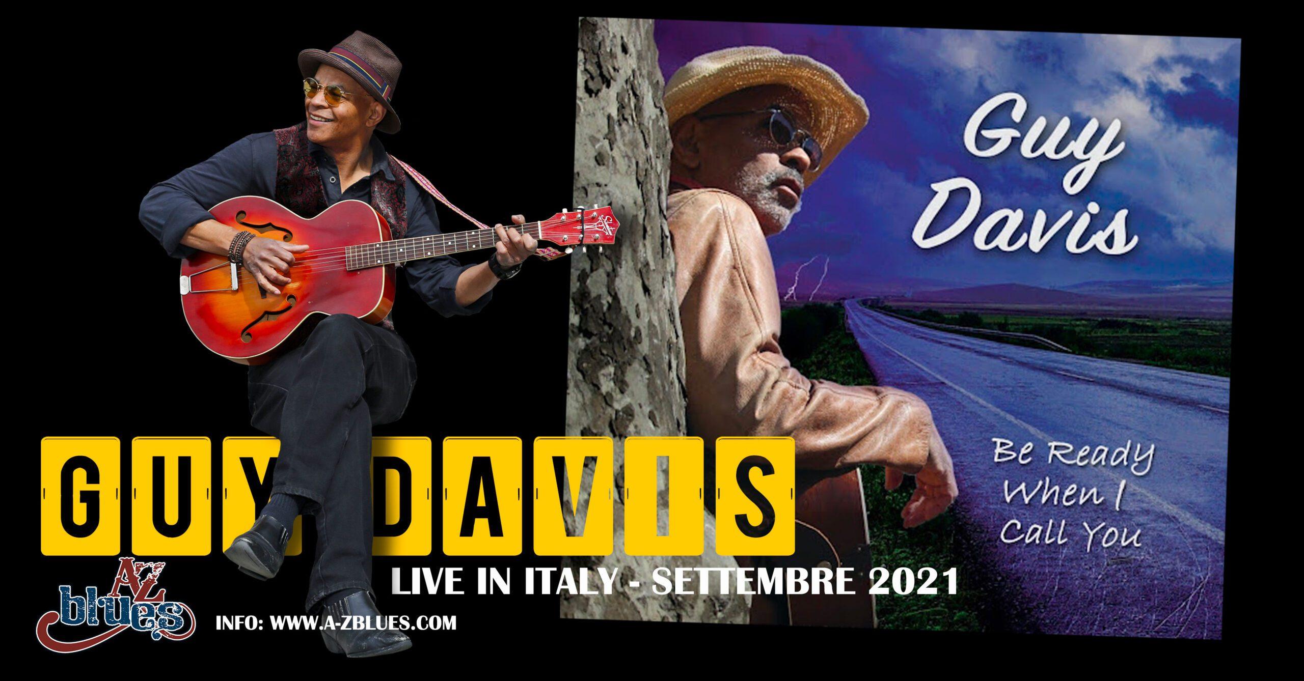 Guy Davis live in Italy con A-Z Blues