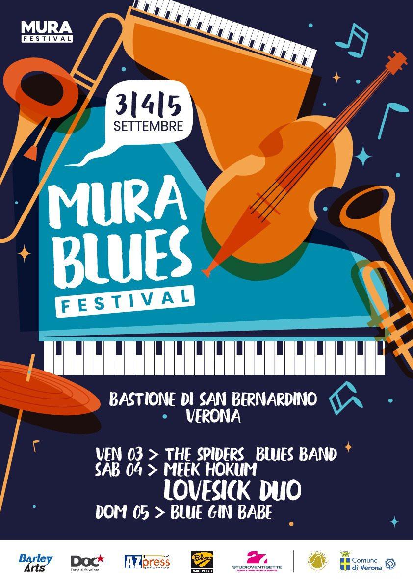 seconda edizione del Mura Blues Festival
